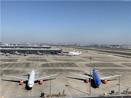 重返蓝天 东航上海地区停场飞机全部解封