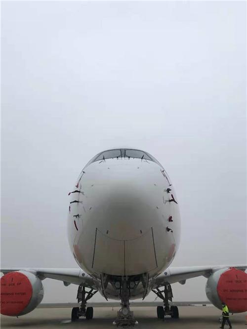回归蓝天东方航空 停在上海的飞机全部解封
