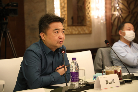 翟山鹰接受中央电视台专访 为中国区块链行业发展建言