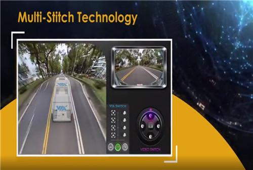 5G赋能智能驾驶,全景环视系统守护巴士安全