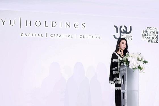 """余晚晚被《澳大利亚金融评论报》称为""""时尚行业最有影响力的女性"""""""