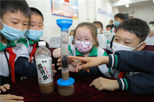 2021世界水日,康师傅水教育走进天津开发区第一小学