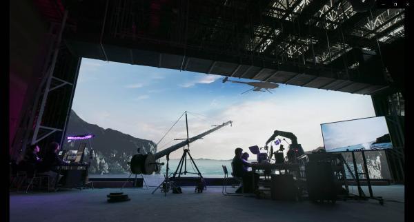 首创,亚洲最大超8K虚拟摄影棚 艾比森倾力打造