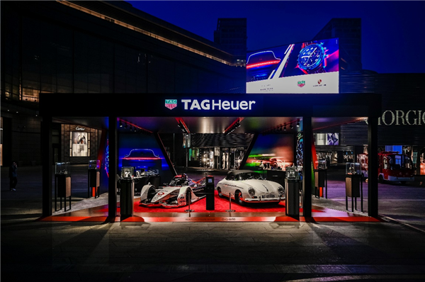 TAG Heuer泰格豪雅卡莱拉系列计时码表保时捷特别版巡展北京站 在华贸中心盛大开幕