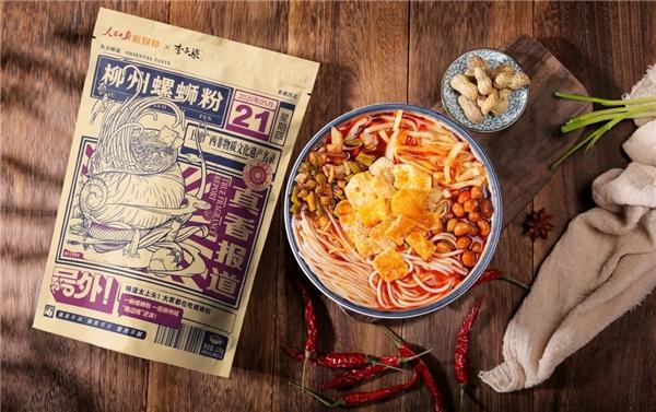 李子柒螺蛳粉国民喜爱度高 竟是因为不断钻研口味和配方
