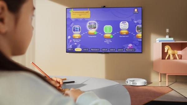 """华为""""带娃神器""""解放你的个人时间 智慧屏S系列为你守护儿童健康"""