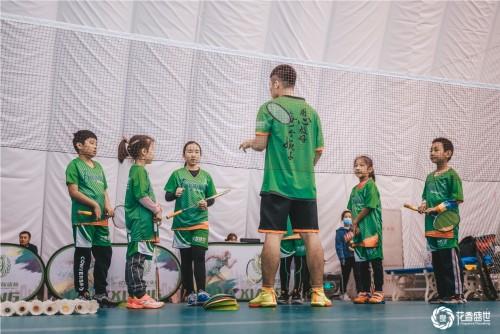 胡阿祥史圣羽毛球训练提升全线深度培养青少年体育