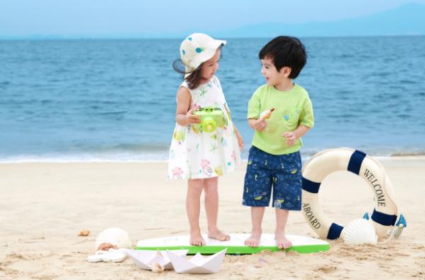 2021夏季婴童新品   自带海洋的清爽魅力 一起夏日探趣