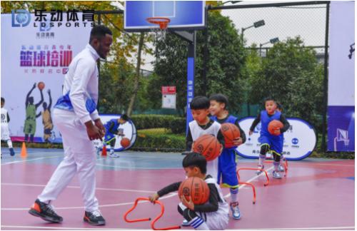 只要热爱,那就上场吧,乐动体育篮球培训开班