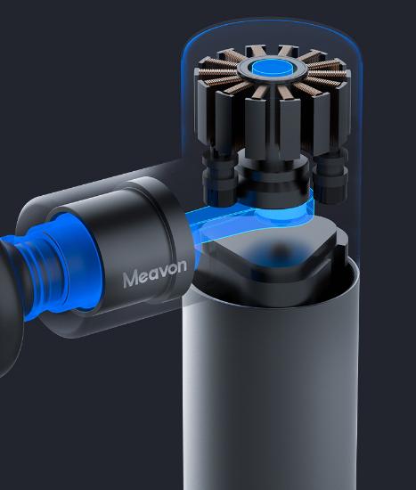 Meavon每物筋膜枪Mini,随身携带的按摩师