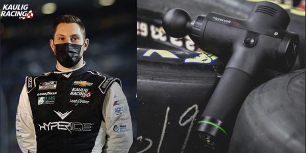 Hyperice(海博艾斯)筋膜枪强势助阵NASCAR赛车队!