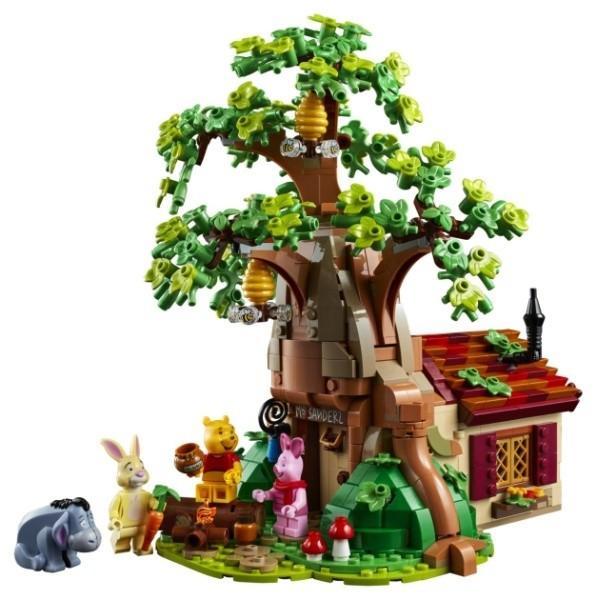 新的乐高创意小熊维尼玩具带你回到100英亩的森林
