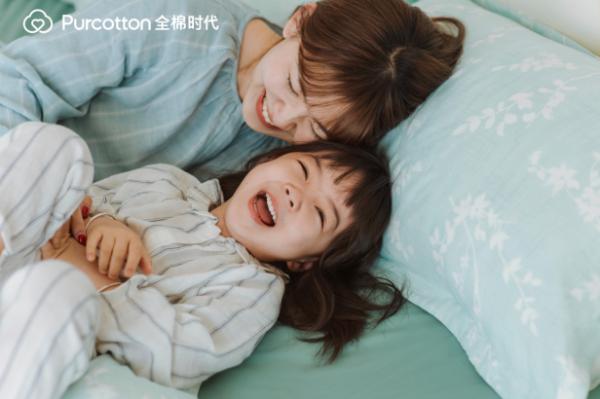 棉花时代的家居棉织品提高睡眠的幸福感