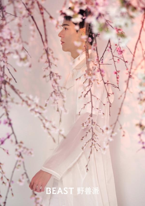 《山河令》即将大结局,龚俊带来全新樱花大片