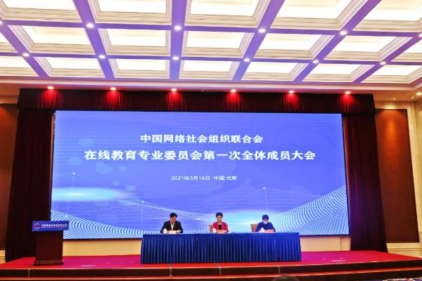 在线教育专业委员会成立 大鹏教育倡议行业规范化管理