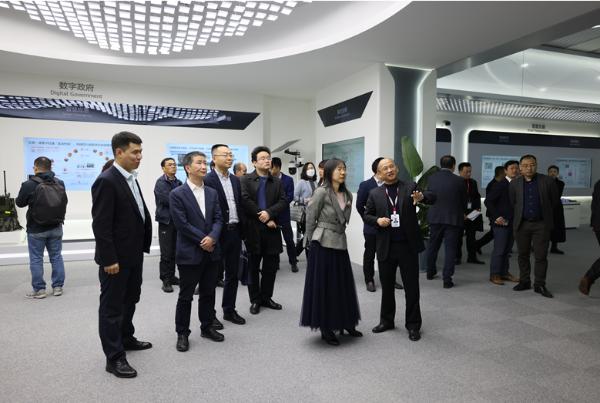 在蓉落成!华为创新数据基础设施体验中心及行业创新体验中心揭幕
