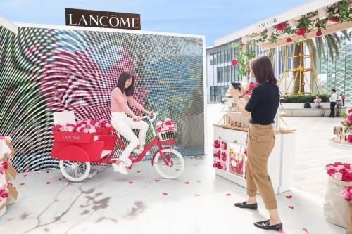 兰蔻亚太旅游零售在海南三亚启动可持续发展之旅,一起收获幸福未来