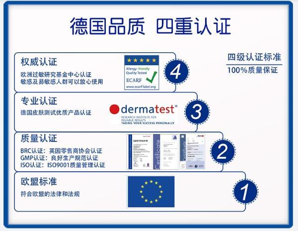 德国四重认证、润养加修护,哈罗闪的婴儿温和护肤霜使用更安心