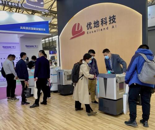 以数智赋能酒店 优地科技闪耀2021年上海国际酒店及商业空间展