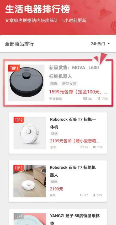 MOVA发布首款扫地机器人,速登海内外热销榜