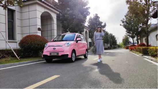 凌宝汽车百车发运仪式宣告小型电动车新的独角兽开启征程