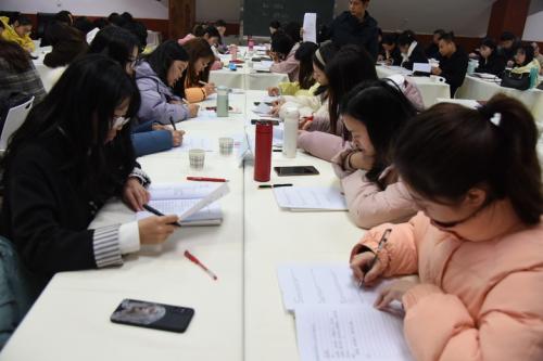文津教育研究院新年第一讲,托管学校教师研修班成功举办