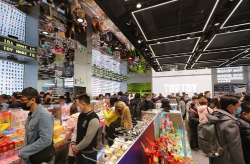 春节消费潮中展露头角,TOP TOY布局全国潮玩市场