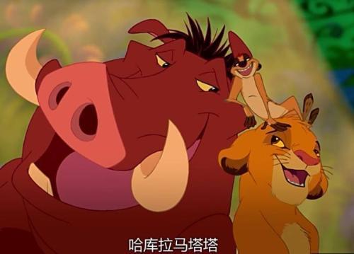 狮子王辛巴 草原上的故事再一次触动了我的心