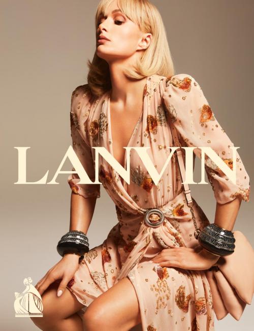 Paris Hilton 倾情演绎 LANVIN 2021 春夏系列广告大片