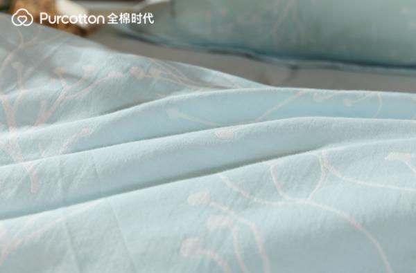 全棉时代纱布床品,给你儿时酣睡体验