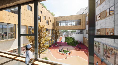 """乐城公园幼儿园落户通州打造另一座世界级""""儿童城"""""""