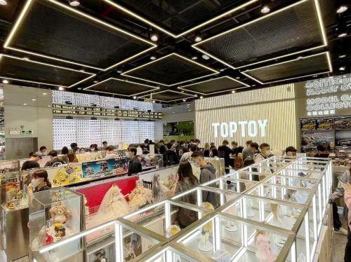 做潮玩行业的强渠道品牌商,TOP TOY的崛起之路