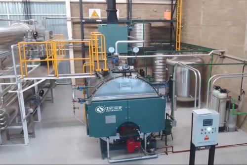 中正升级版WNS系列燃气蒸汽锅炉 收获海外玫瑰精油工厂的青睐
