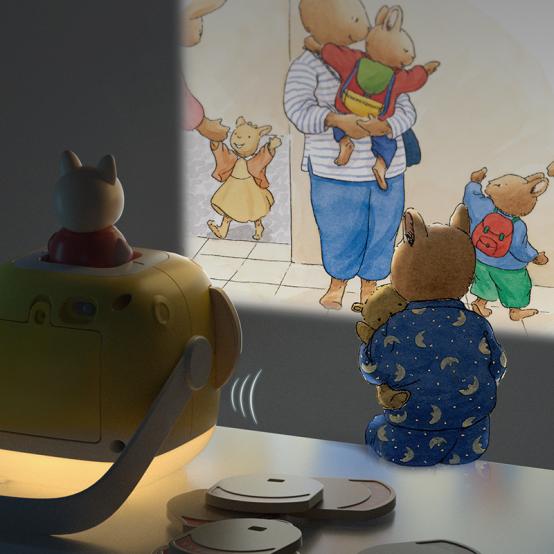 织梦月球携手小兔汤姆,打造温馨睡前教育场景