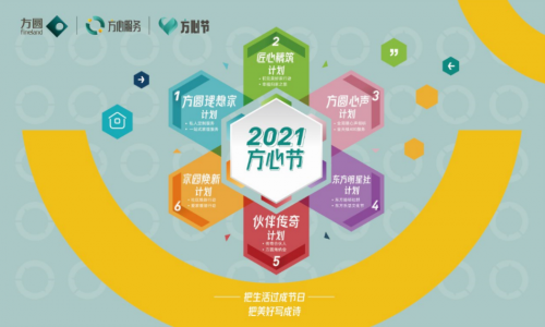 方圆集团方心服务3.0服务体系发布, 你的都市理想生活家