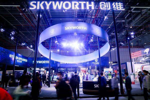 智慧未来!创维展示亮相上海AWE 2021