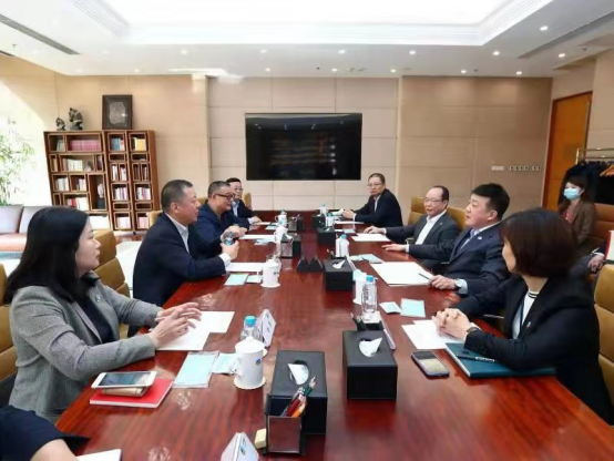 加多宝集团董事长王金长拜访中粮集团董事长吕军