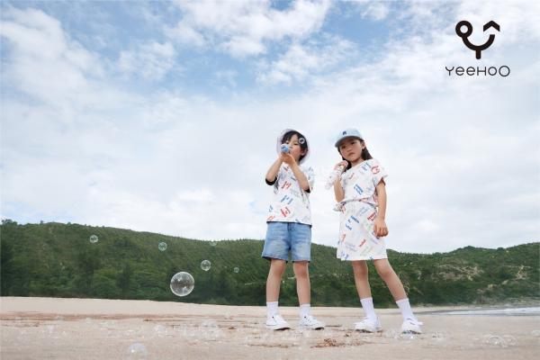 YeeHoO Rainbow 创立!品质美学定义童装新风尚!