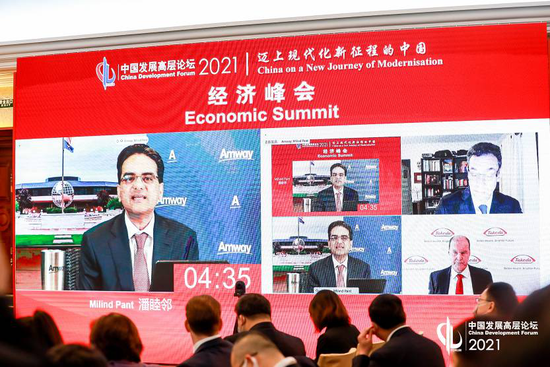 安利全球总裁潘好邻居:聚焦大健康轨道助力健康中国建设