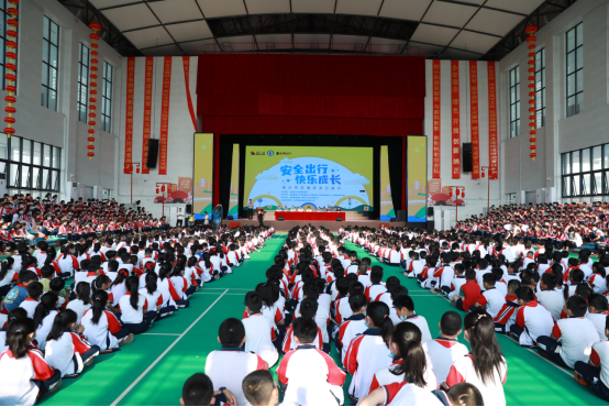 松果出行联合百余个县交警大队开展全国中小学生安全教育日公益活动