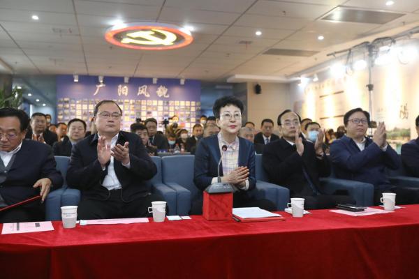 廊坊市广阳区重点项目签约仪式圆满成功