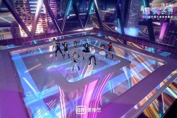 """XR舞台、大屏连线、粉丝共创...THE9这场演唱会让""""未来的娱乐""""在今天呈现"""