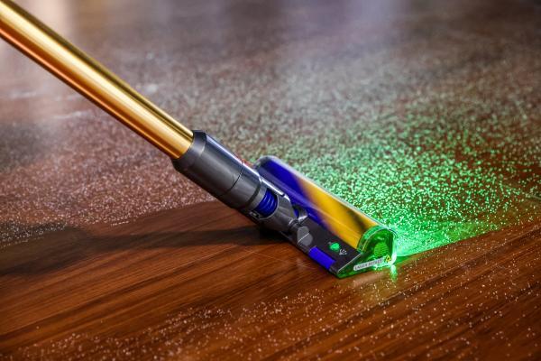 戴森带来了一种新的激光技术 以解锁一种新的视觉清洁方式