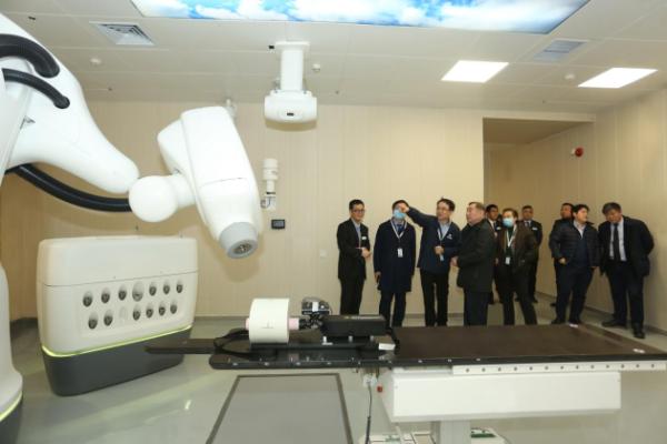 """中核安科锐""""中国医学装备协会放射治疗装备技术应用培训基地""""在津盛大揭幕"""