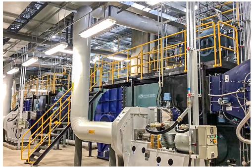 中正燃气锅炉优质安全更高效 成为众多新材料产业用户的共同选择