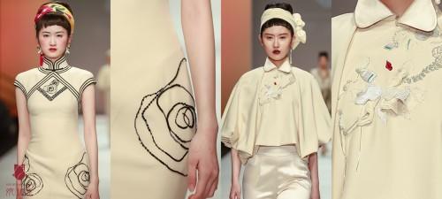 上海时装周叶青携婉珺玺女王归来 《镜·花·园》致敬海派文化