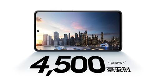 手持三星Galaxy A52 5G 走上职场新巅峰