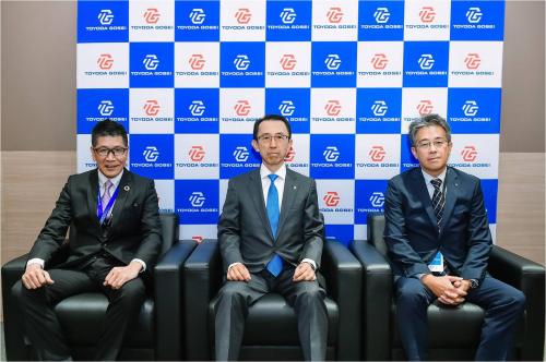 丰田合成参加上海车展 为中国客户送来放心、安全和舒适