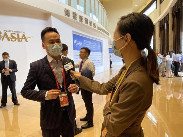 聚焦博鳌丨顺联动力郭洪安:电商参与数字经济与一带一路建设