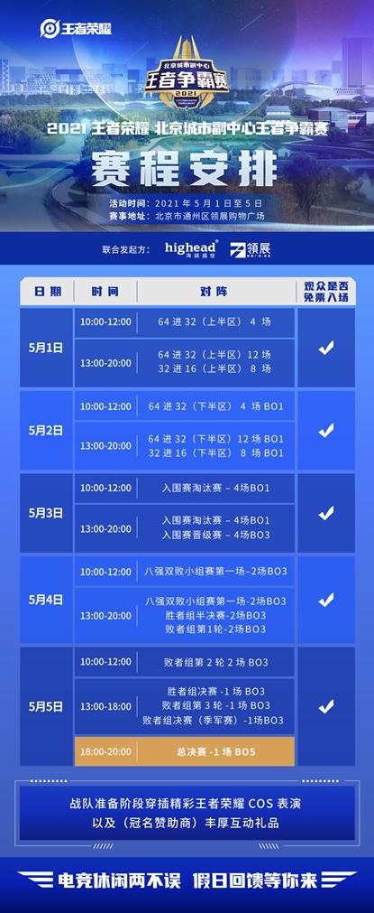 领展购物广场·京通正式启动2021王者荣耀北京城市副中心争霸赛
